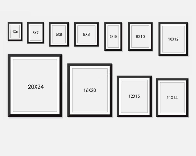 Какого размера картинки, открытка
